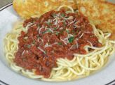 photo of menu item 'Spaghetti Dinner'