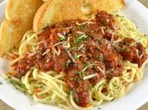 photo of menu item 'Seniors Spaghetti'