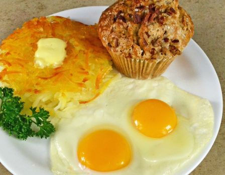 photo of menu item 'Hashbrowns 'N Eggs'