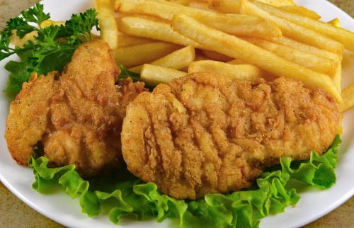 photo of menu item 'Senior Chicken Strips'