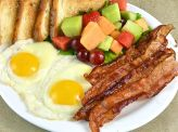 photo of menu item 'Gluten Free Meat 'N Eggs'