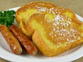 photo of menu item 'Seniors French Toast 'N Sausage'