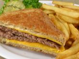 photo of menu item 'Half Patty Melt Combo'