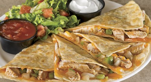 photo of menu item 'Chicken Quesadilla'