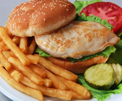 photo of menu item 'Grilled Chicken Breast Combo'