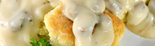 photo of menu item 'Country Biscuits 'N Sausage Gravy'