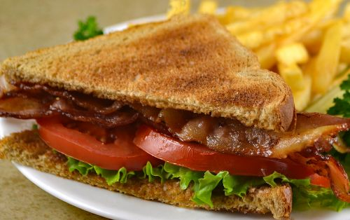 photo of menu item 'Seniors Half BLT'