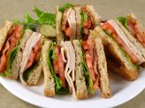 photo of menu item 'Turkey Club Combo'