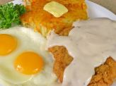 photo of menu item 'Chicken Fried Steak 'N Eggs'