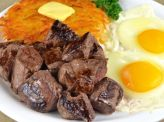 photo of menu item 'Sirloin Tips 'N Eggs'