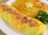photo of menu item 'Ham 'N Cheese Omelette'