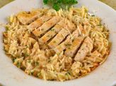 photo of menu item 'Gluten Free Cajun Chicken Alfredo'