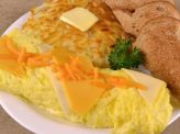 photo of menu item 'Three Cheese Omelette'
